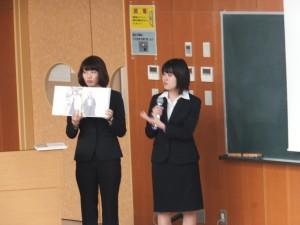 学生からの成果報告